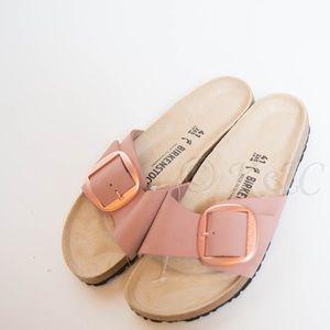 Birkenstock Madrid Hex Slide Sandal 41 Narrow